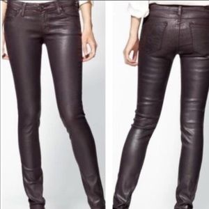 AG Adriano Goldschmied Leatherette Legging
